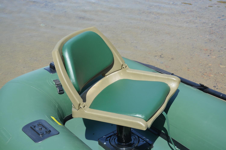 Sea Eagle Frameless Pontoon Boat swivel seat