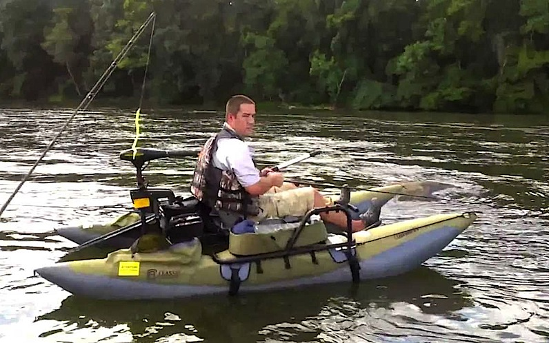 Top 5 inflatable pontoon boats for Best river fishing boat