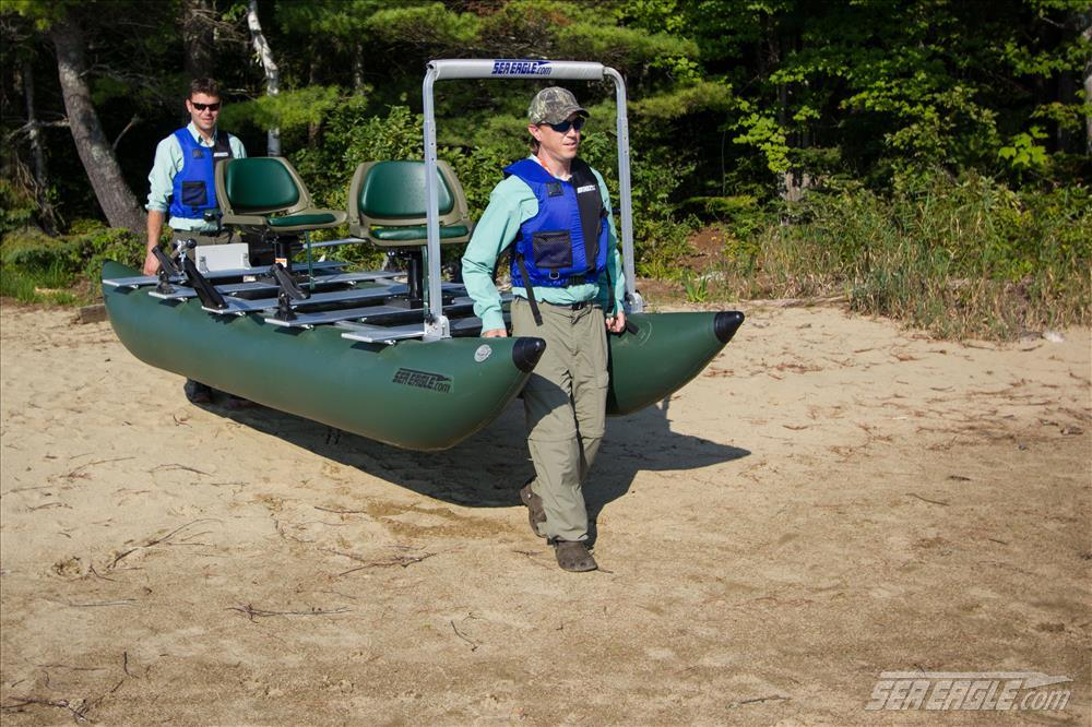 2 Person Inflatable Pontoon Boat Review