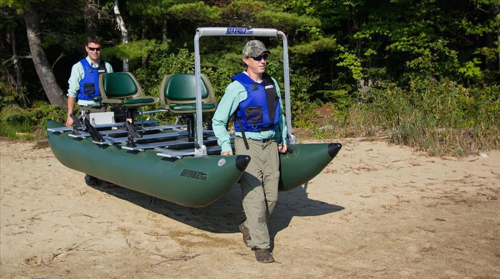 inflatable pontoon boat care